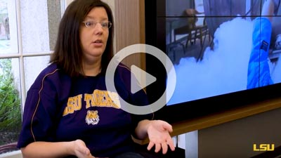 LSU Online student discuss program
