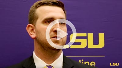 LSU Online graduate in an interview