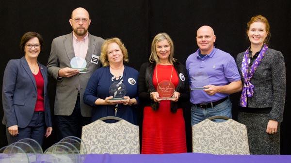 Faculty Innovator Award recipients.