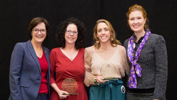 Integrating Technology for Innovation Award recipients.