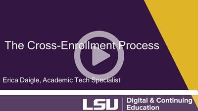 Cross enrollment image