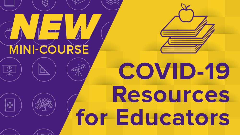 LSU Online COVID-19 Resources for Educators image