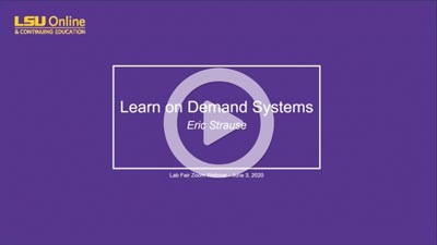 Learn On Demand Systems image