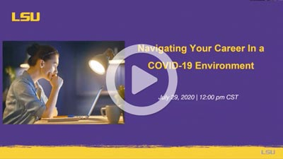 Navigating Your Career In Today's COVID-19 Environment