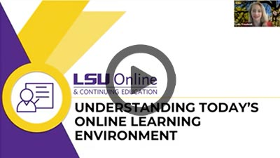 Understanding Today's Online Learning Environment thumbnail