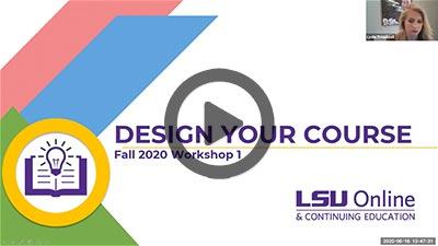 Design Your Course: Ensuring Alignment thumbnail
