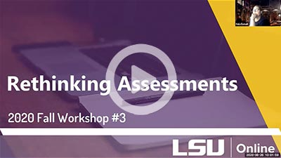 Design Your Course: Rethinking Assessments thumbnail