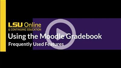 Using the Moodle Gradebook thumbnail