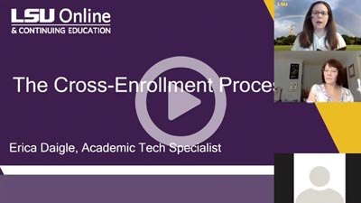 Cross-Enrollment Information Session thumbnail