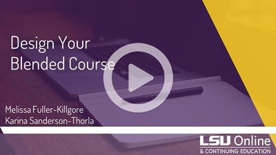 Design Your Blended Course thumbnail