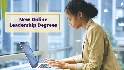 New online leadership degrees photo