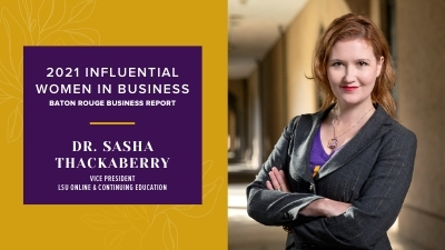 Sasha Thackaberry Honored as an Influential Woman in Business