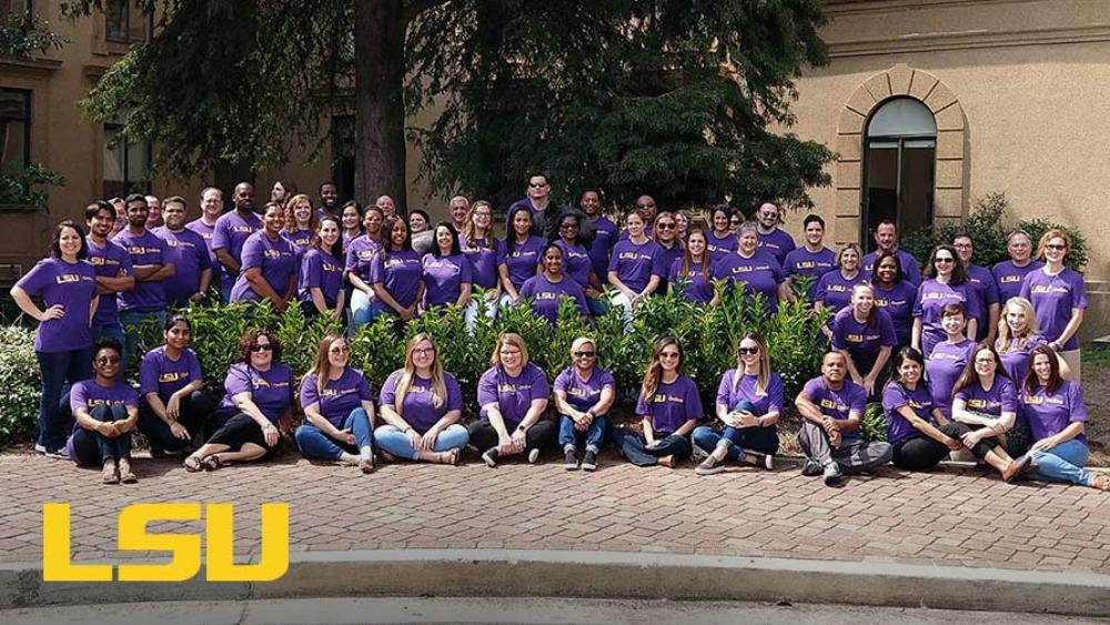 Team Photo of LSU Online