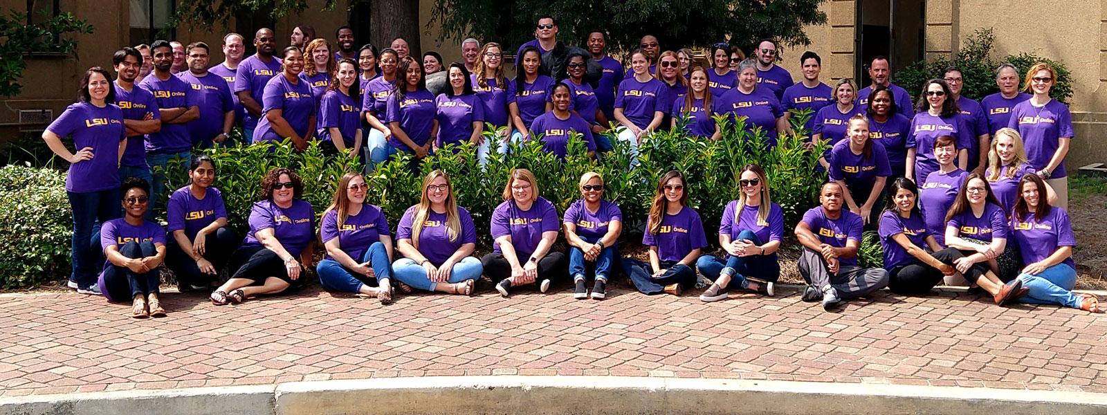 LSU Online team photo