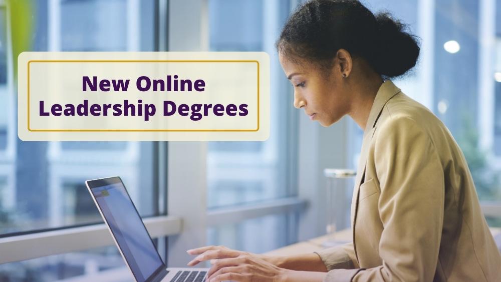 New online leadership degrees photo