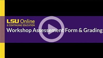 Workshop Assessment and Grading thumbnail