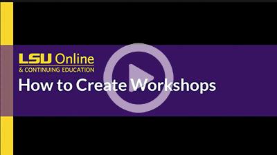 Workshop Activity Creation thumbnail