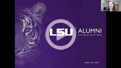 Experience the LSU Alumni Association webinar photo