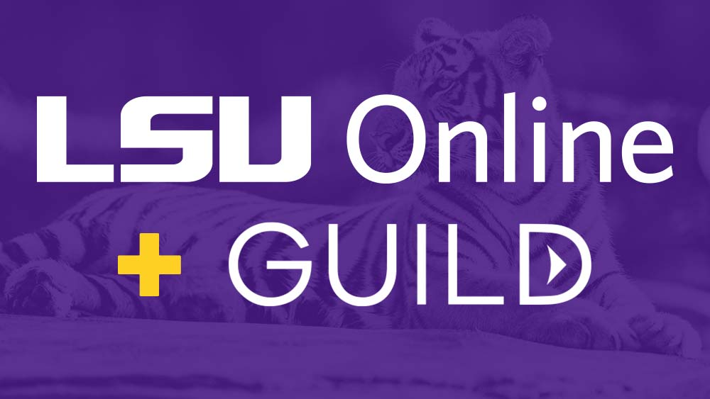 LSU Online partners with Guild