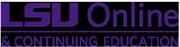 LSU Online logo